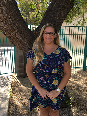 April Thorpe, Kindergarten Teacher